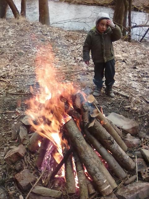 Jak jsme (ne)vařili v lese